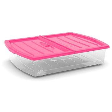 KIS Spinning Box XL růžové víko 56l na kolečkách (86410000704)