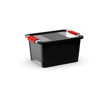 KIS Bi box S - černý 11l (008452BKRH)