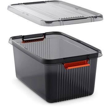 KIS K Latch Box L - šedý 43l (85630000720)
