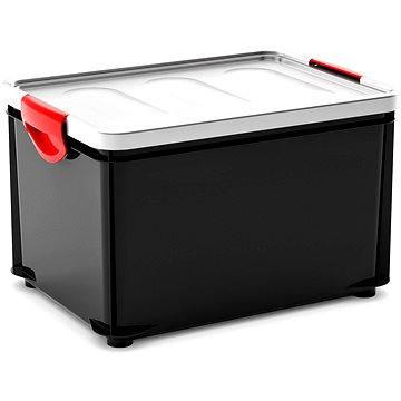 KIS Clipper Box L černý-šedé víko 33l (008694GA)
