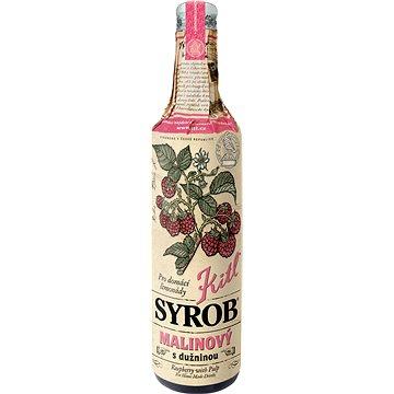 Kitl Syrob Malinový s dužninou 500 ml (8595251001040)