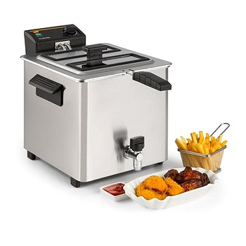 Klarstein Family Fry stříbrná (4060656151521)