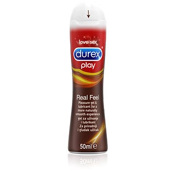Lubrikační gel DUREX Play Real Feel 50 ml (5052197043419)