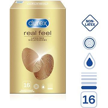 Kondomy DUREX Real Feel 16 ks (5997321771908)