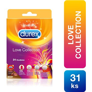 DUREX Love Collection 31ks (4002448114949)