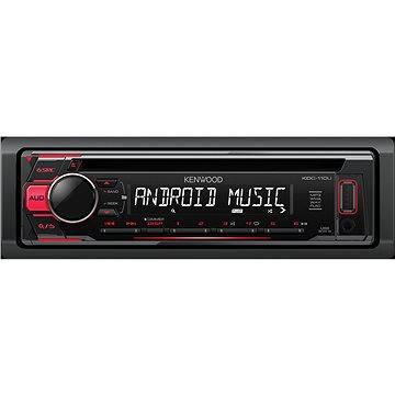 KENWOOD KDC-110UR + ZDARMA Audiokniha MP3 Mix mluveného slova