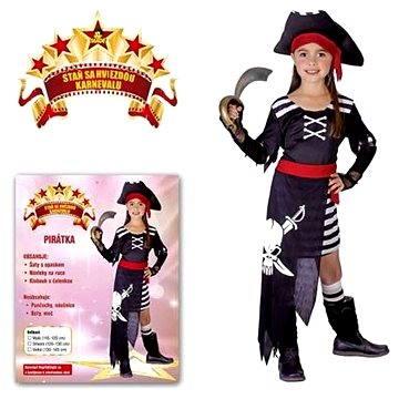 Kostým Pirátka vel. S (8590756502290)