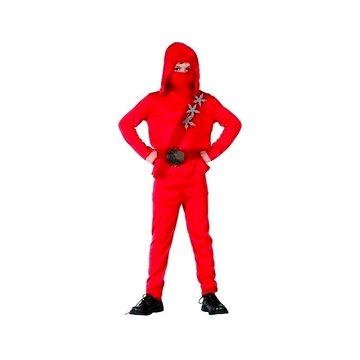 Kostým Ninja červený vel. L (8590756861380)