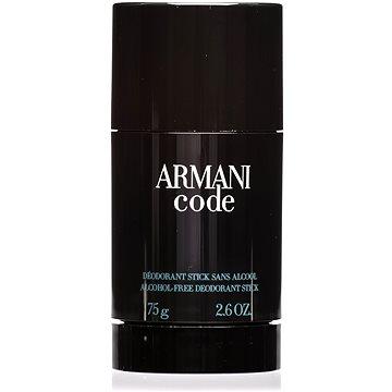 Pánský deodorant GIORGIO ARMANI Code 75 ml