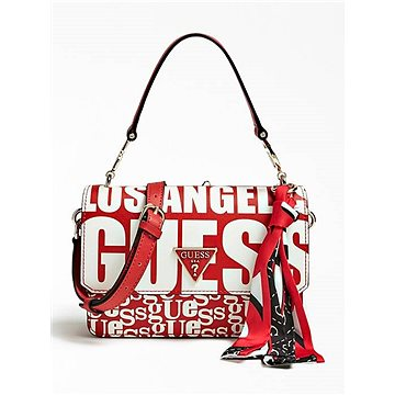 GUESS Analise Logo Crossbody With Foulard (190231253976)