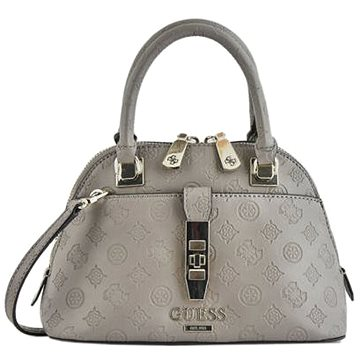 GUESS Peony Debossed Logo Small Handbag Taupe (190231251248)
