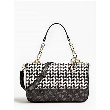 GUESS Rock Houndstooth Logo Crossbody (190231254904)