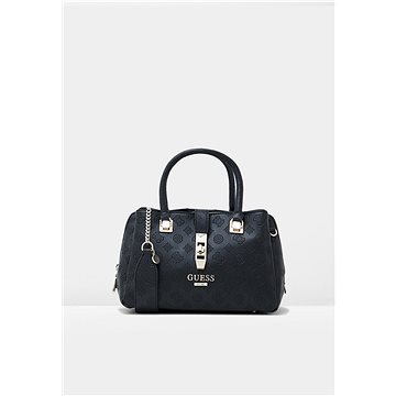 GUESS Peony Debossed Logo Handbag Black (190231251255)