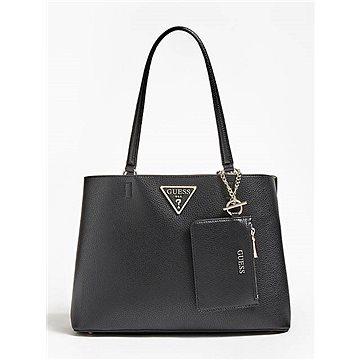 GUESS Aretha Purse Charm Shoulder Bag Black (190231284055)