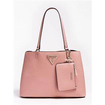 GUESS Aretha Purse Charm Shoulder Bag Rosewood (190231284086)