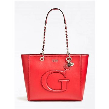 GUESS Chrissy Patent-Look Logo Front Shopper Lipstick (190231278313)