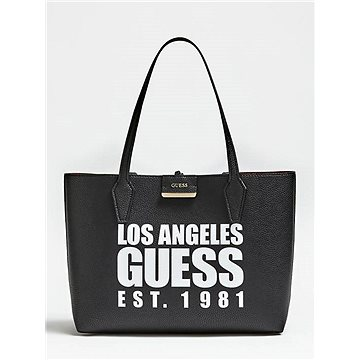 GUESS Bobbi Reversible 3in1 Shopper Black/Red (190231252214)