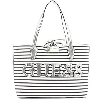GUESS Bobbi Reversible 3in1 Shopper Stripe/Silver (190231252313)