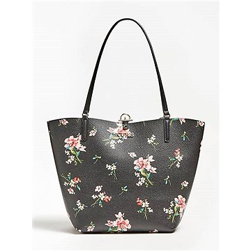 GUESS Alby Reversible Floral Integrated Pochette Shopper (190231292265)