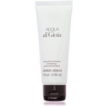 Tělové mléko GIORGIO ARMANI Acqua di Gioia 75 ml (8595562276052)