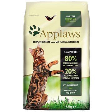 Applaws granule Cat Adult kuře s jehněčím 7,5 kg (5060333439637)