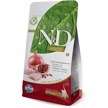 N&D grain free cat kitten chicken & pomegranate 10 kg (8606014100839)
