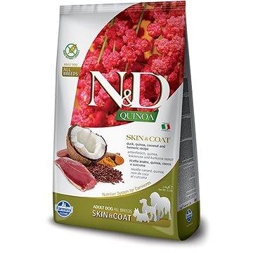 N&D grain free quinoa dog skin & coat duck & coconut 7 kg (8010276035660)