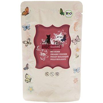 Catz finefood Bio - s kuřecím masem 85 g (4260379445598)