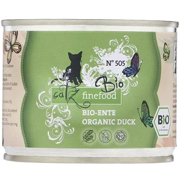Catz finefood Bio - s kachním masem 200 g (4260379445710)