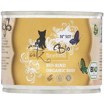 Catz finefood Bio - s hovězím masem 200 g (4260379445741)