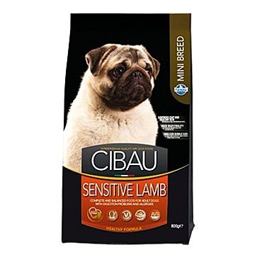 CIBAU Adult Sensitive Lamb & Rice Mini 800 g (8010276030894)