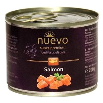 Nuevo kočka adult losos konzerva 200g (4250231595134)