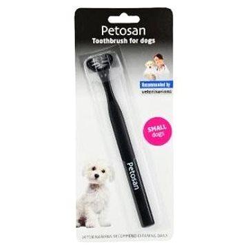 Petosan zubní kartáček dvouhlavý pro psy Small (7032574123123)