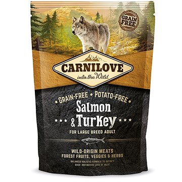 Carnilove salmon & turkey for large breed adult 1,5 kg (8595602508952)