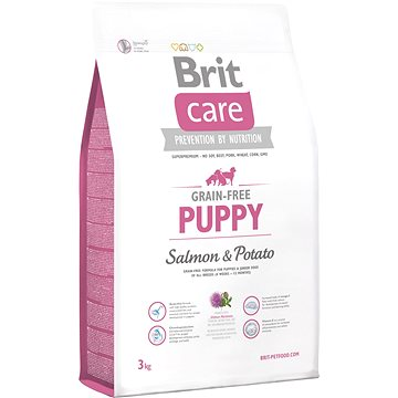 Brit Care grain-free puppy salmon & potato 3 kg (8595602510061)