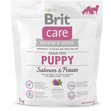 Brit Care grain-free puppy salmon & potato 1 kg (8595602510078)
