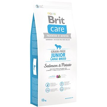 Brit Care grain-free junior large breed salmon & potato 12 kg (8595602510092)