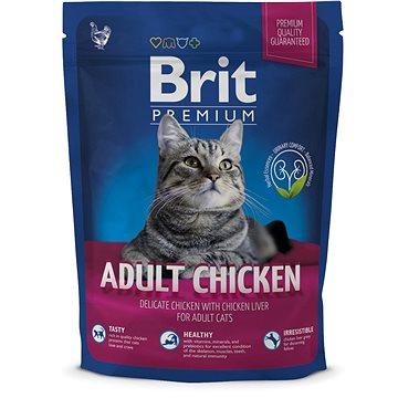 Brit Premium Cat Adult Chicken 300 g (8595602513062)