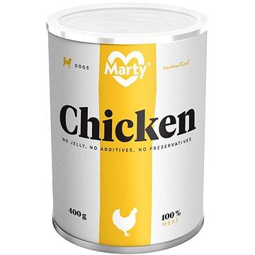 MARTY Essential pro psy 100% maso - kuřecí 400 g (8595174340042)