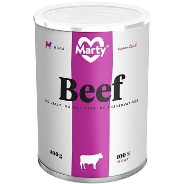 MARTY Essential pro psy 100% maso - hovězí 400 g (8595174340059)