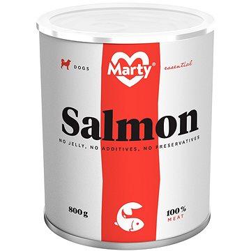 MARTY Essential pro psy 100% maso - losos 800 g (8595174340417)