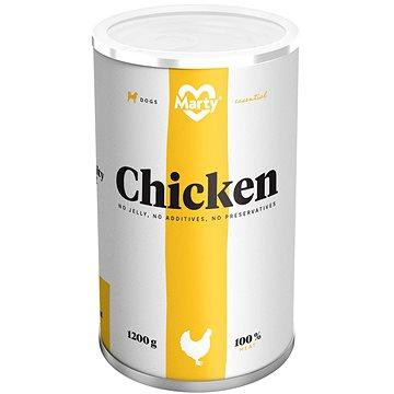 MARTY Essential pro psy 100% maso - kuřecí 1200 g (8595174340066)