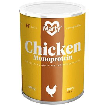 MARTY Monoprotein 100% maso - kuřecí 400 g (8595174340172)