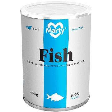 MARTY Essential pro kočky 100% maso - rybí 400 g (8595174340035)