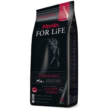 Fitmin dog For Life Lamb & Rice - 15 kg (8595237011353)