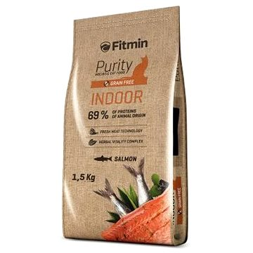 Fitmin cat Purity Indoor - 1,5 kg (8595237013555)