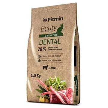 Fitmin cat Purity Dental - 1,5 kg (8595237013609)