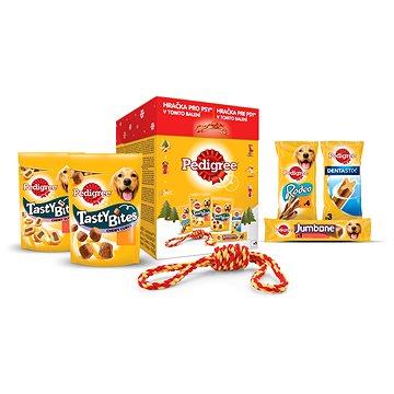 Pedigree vánoční balíček s hračkou 377 g (4008429122651 )