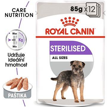 Royal Canin Sterilised Dog Loaf 12 × 85 g (9003579008737)