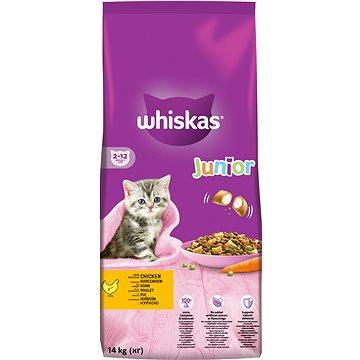 Whiskas granule Junior s kuřecím 14 kg (5900951014369)
